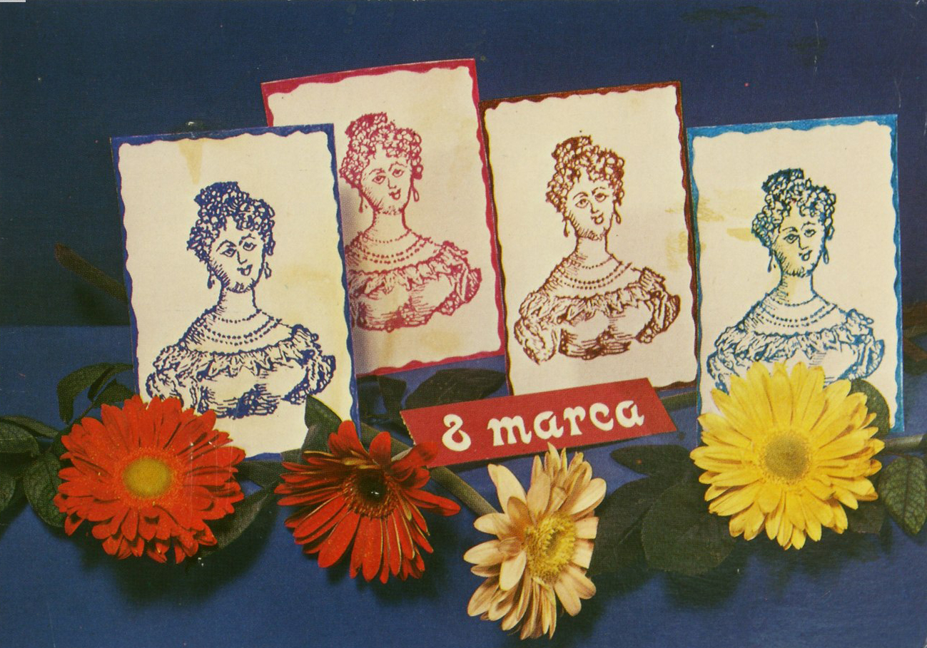 Pocztówka ze zbiorów MET, lata 70. XX w., fot. Marian Kosicki